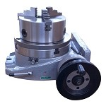 The Adapter and 3 Jaw Chuck Mounting on a 8