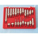 Dial Indicator Point Set - 22 Pieces